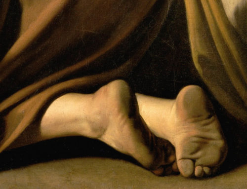 Caravaggio's dirty feet