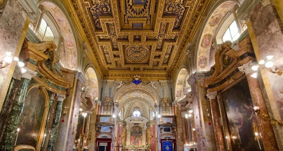 La Chiesa di Sant'Eligio dei Ferrari a Roma