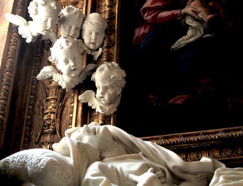 I cherubini della beata Ludovica Albertoni di Gian Lorenzo Bernini