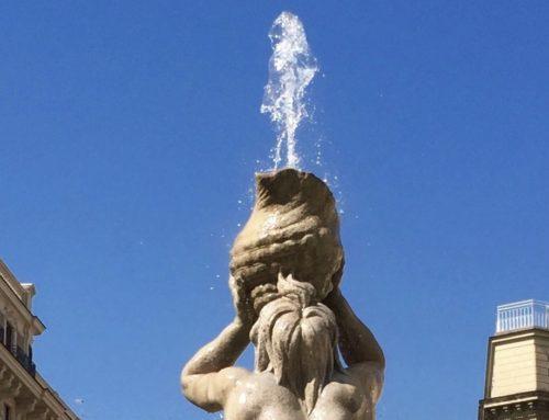 La Fontana del Tritone di Gian Lorenzo Bernini