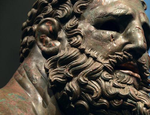 マッシモ宮(ローマ国立博物館)の休む挙闘士