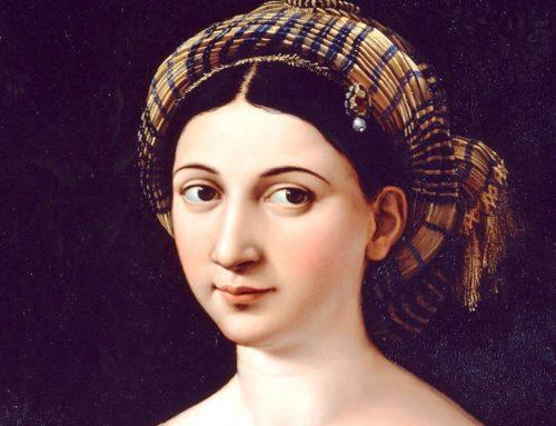 La Fornarina di Raffaello in Palazzo Barberini