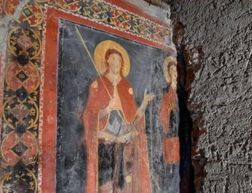 Rome discovers Medieval fresco hidden for 900 years