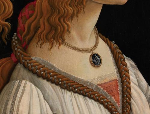 Botticelli, Simonetta Vespucci e il suo antico cammeo