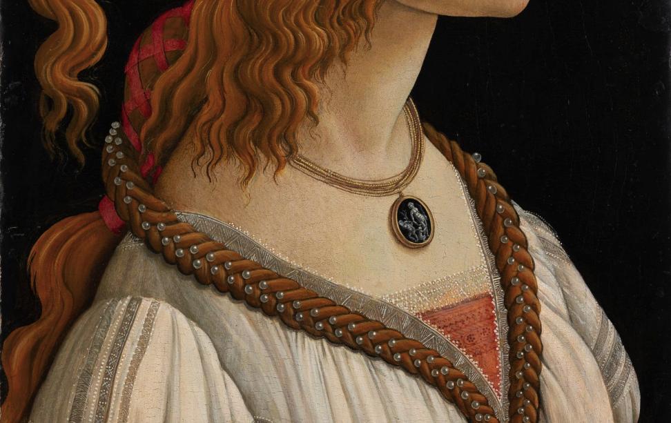 Botticelli e Simonetta Vespucci